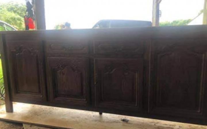 Refection d'un vieux meuble en bois
