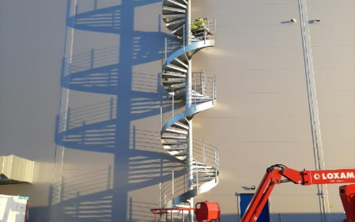 Escalier hélécoïdale sur mesure